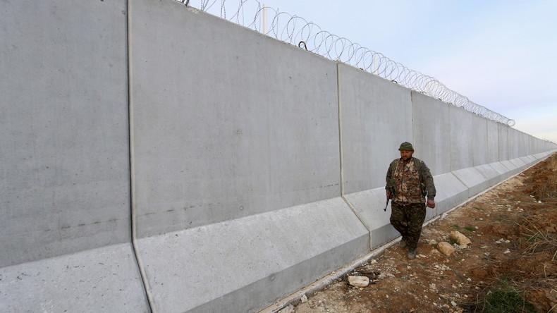 Die neuen Mauern: Türkei baut Selbstschussanlagen auf Mauer zu Syrien