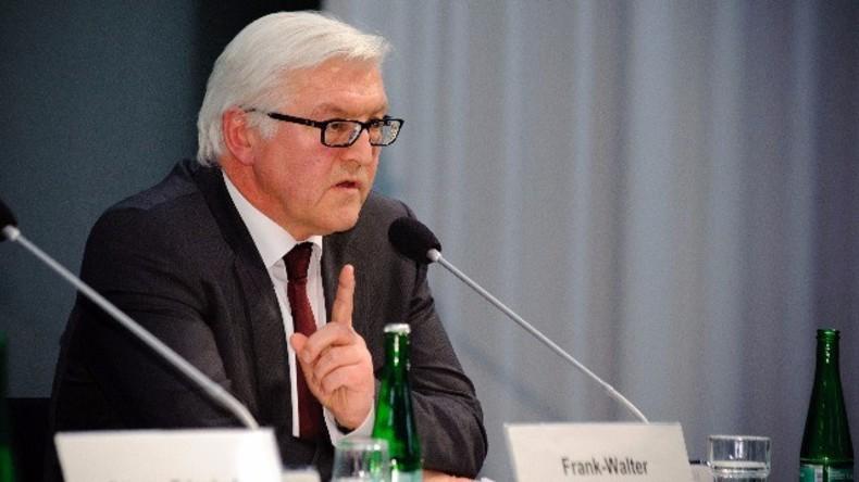 Live: Steinmeier, De Mistura und HNC vor Diskussion der Syriengespräche in Berlin