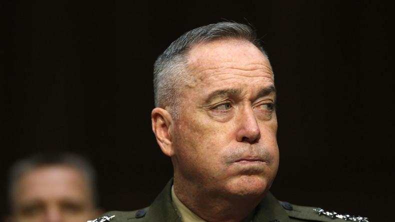 """US-General Dunford zur Aufrüstung in Osteuropa: """"Wir sind noch nicht fertig"""""""