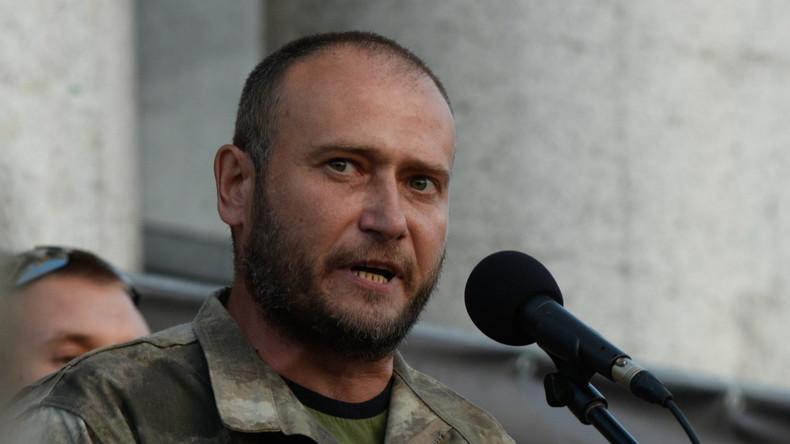 """Ehemaliger Befehlshaber des """"Rechten Sektors"""" gibt zu, Krieg im Donbass provoziert zu haben"""