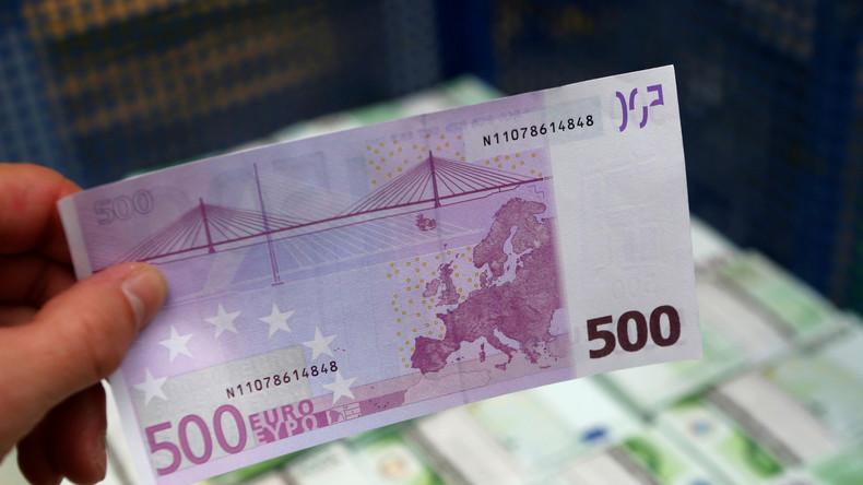 Paukenschlag in Richtung Bargeld-Verbot: EZB gibt bekannt 500-Euro-Schein abzuschaffen