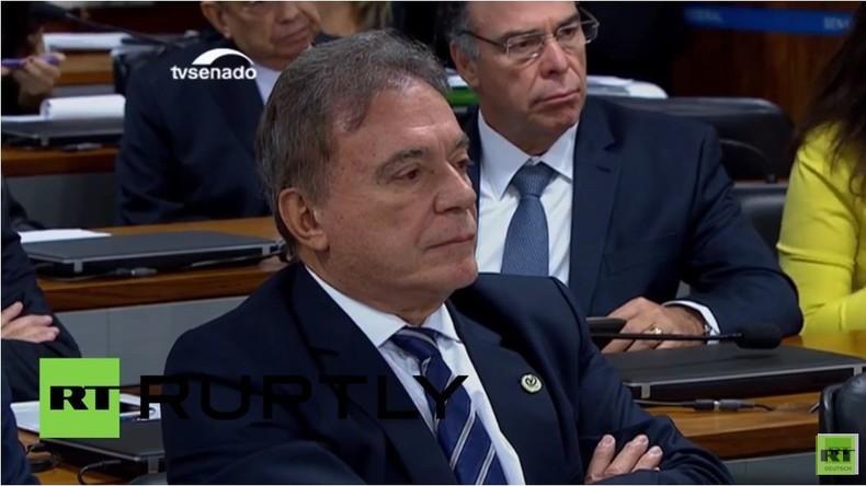 Brasilien: Parlamentspräsident Cunha wegen schwerer Korruptionsvorwürfe suspendiert