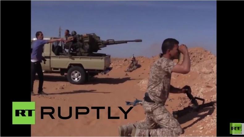 Libyen: Tödliche Zusammenstöße während Armee den Vorstoß des IS nach Misrata abwehrt