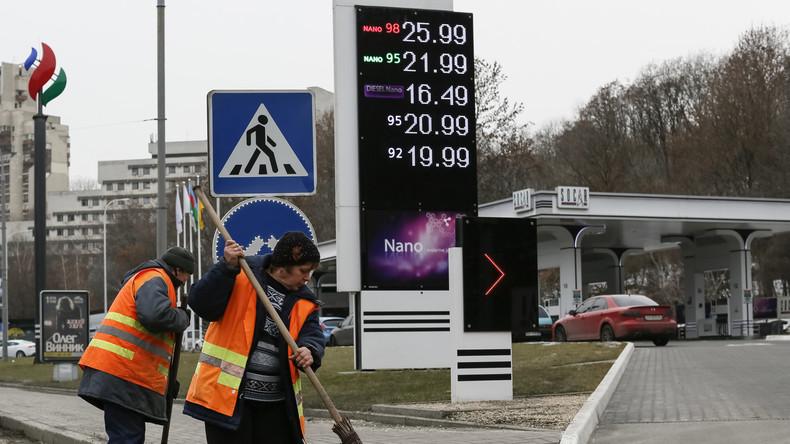 Vize-Premierminister der Ukraine ruft Dorfbewohner zum Gasverzicht auf