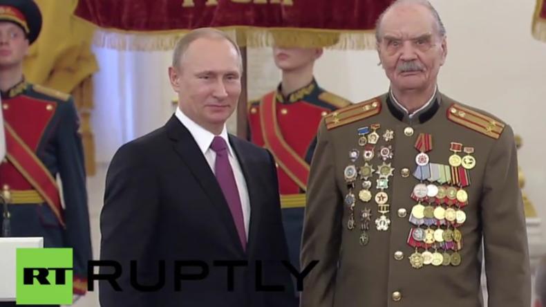 Live: Tag des Sieges in Russland – Wladimir Putin empfängt Veteranen im Kreml