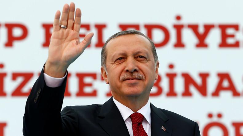 """Erdogan kritisiert die EU für Umgang mit syrischen Flüchtlingen: """"Diktatur und Grausamkeit"""""""