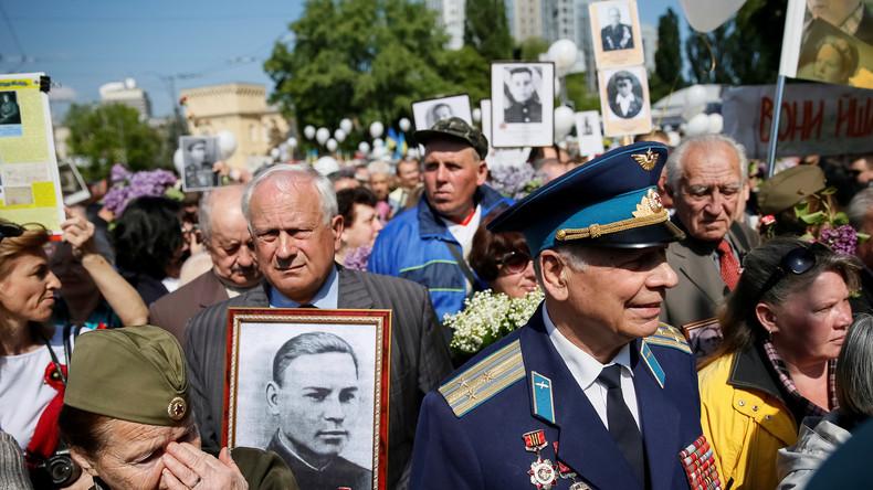 """Ukraine am 9. Mai: Nationalistische Übergriffe auf Gedenkveranstaltungen zum """"Tag des Sieges"""""""