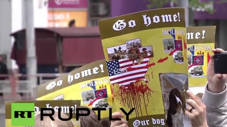 Moldawien: US-Militär muss nach heftigen Protesten am Tag des Sieges aus Kischinau abziehen