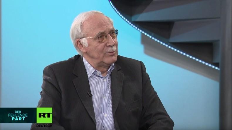 Deutscher Ex-Botschafter Schultheiß im RT-Interview über die Krise in Griechenland