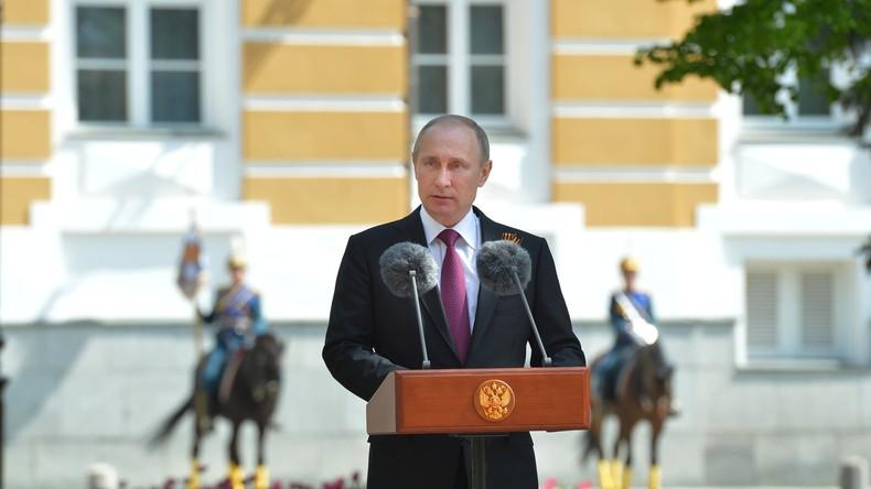 Putin fordert blockfreies internationales Sicherheitssystem angesichts globaler Terrorgefahr