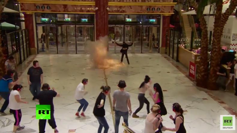 Kein Actionfilm! Anti-Terror-Übung mit gespieltem Selbstmordanschlag in Manchester