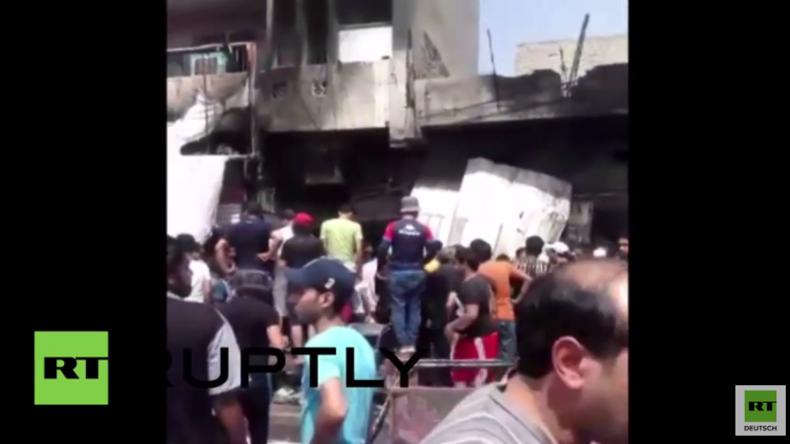 Irak: Mindestens 20 Tote bei IS-Anschlag in Schiitenviertel