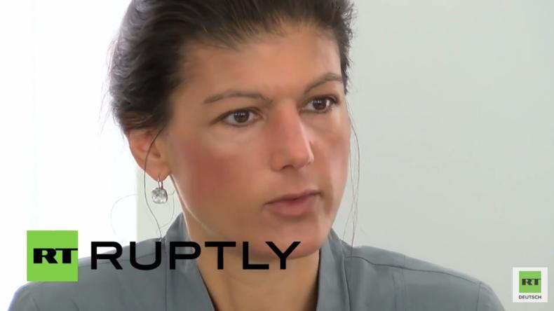 Nur mit Russland zusammen ist die europäische Sicherheit gewährleistet – Sahra Wagenknecht