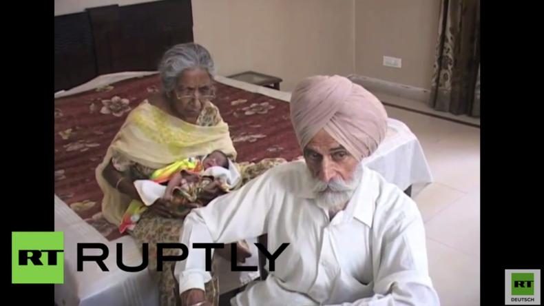 Unglaublich! 72-Jährige bringt Kind zur Welt