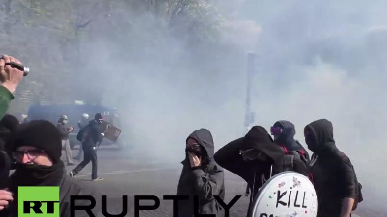 Live: Erneut Protest in Paris - Regierung will Arbeitsreformen ohne Parlamentsbeschluss durchsetzen