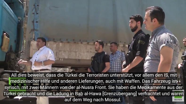 Syrien: Militärischem Aufklärungsdienst geht Hilfslieferung der Türkei für den IS in die Falle