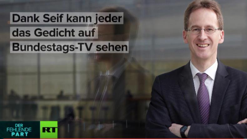 Bundestag: Warum Detlef Seif das Schmähgedicht über Erdogan verlas