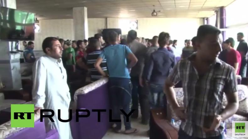 Irak: IS-Terroristen verüben Attentat in Fanclub von Real Madrid im Nordirak – Mindestens 20 Tote