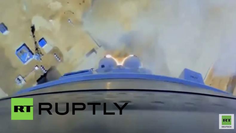 Russland: Sehen Sie den allerersten Raketenstart vom Kosmodrom Wostotschny