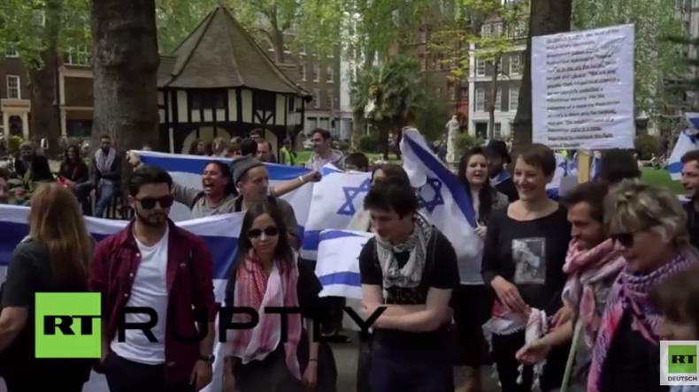 England: Zionisten stören und belästigen friedliche Nakba-Teilnehmer in London