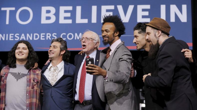 Erfolgreicher als Clinton: Bernie Sanders kämpft weiter