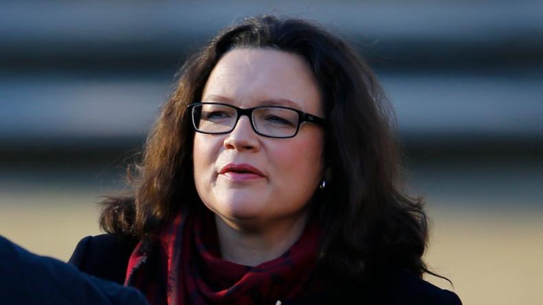 Spezialsozial: Arbeitsministerin Andrea Nahles (SPD) hat sich offenbar auf Geringverdiener und Hartz IV-Empfänger eingeschossen