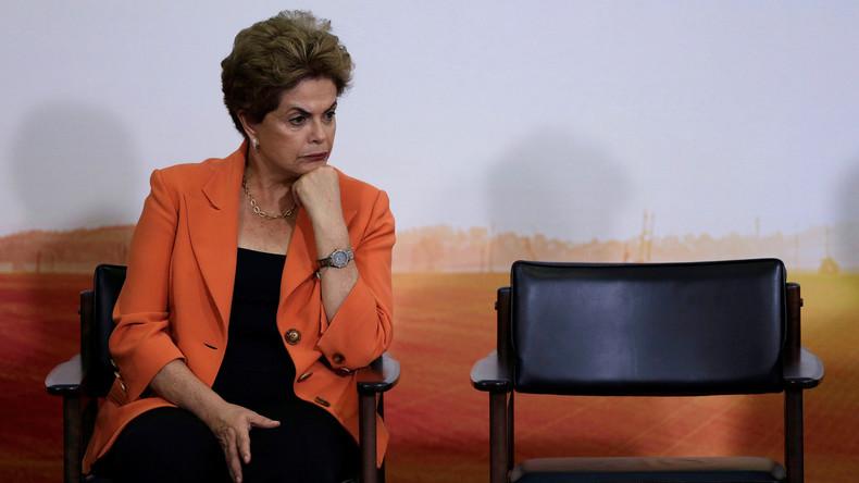 Brasiliens Präsidentin DIlma Rousseff: Stecken die USA hinter dem Machtwechsel?