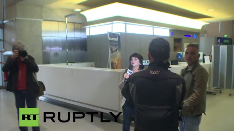 Live vom Charles de Gaulle Flughafen in Paris nachdem EgyptAir-Flug 804 verloren geht