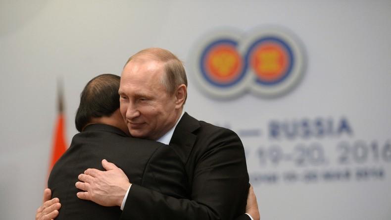 Forum Russland-ASEAN in Sotschi gestartet