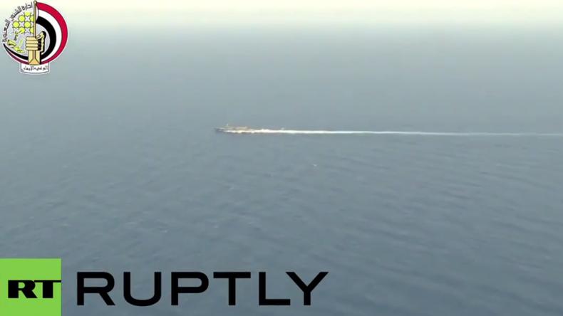 Ägyptisches Militär: Wrackteile von Flug MS804 im Mittelmeer aufgespürt