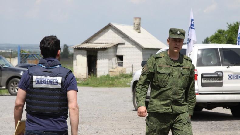 OSZE plant Entsendung einer bewaffneten Polizei-Mission zu Wahlen im Donbass