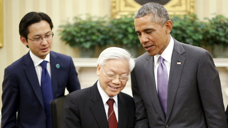 Pivot to Asia: Barack Obama besucht Vietnam und bringt mehr Waffen nach Südost-Asien