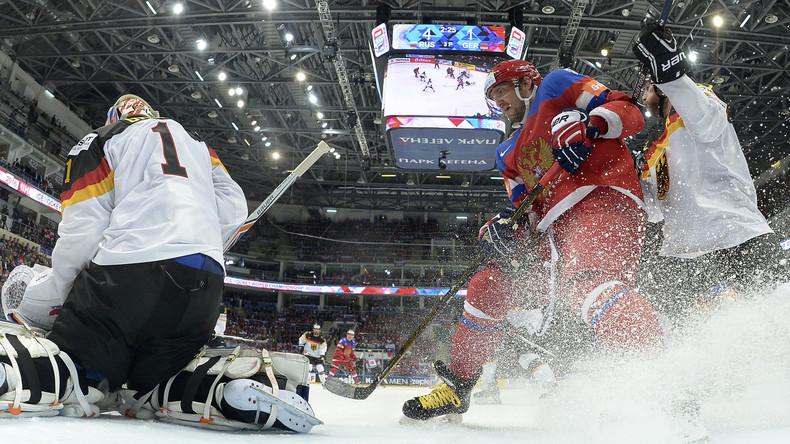 Eishockey: Russland beendet deutschen Traum vom Halbfinale