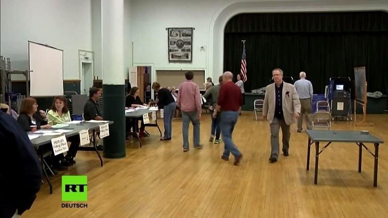 US-Wahlen: Manipulationsvorwürfe mehren sich nach Wahlsieg von Clinton