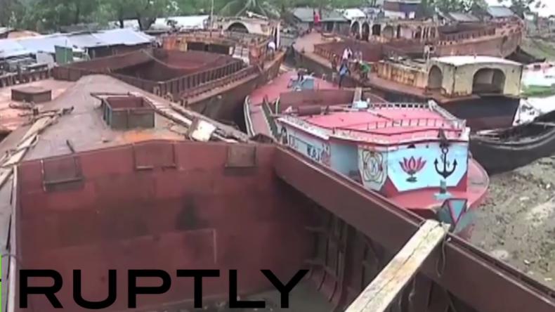 Bangladesch: Mindestens 21 Tote in Hafenstadt nach schwerem Zyklon - 150.000 Menschen obdachlos