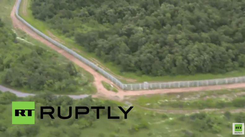 Bulgarien: Politiker begutachten neuen Grenzzaun zur Türkei