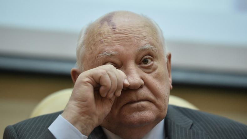Kiewer Regierung will Gorbatschow nach dessen Krim-Äußerung Einreise nach Europa verbieten