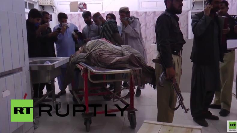 Pakistan: Taliban-Anführer Mansour durch US-Drohnenangriff getötet
