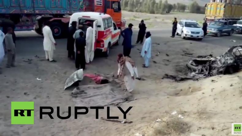 Pakistan: Hier wurde der Taliban-Führer Mansour durch einen US-Drohnenangriff getötet