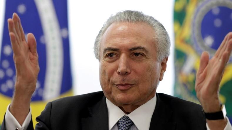 Wer ist Brasiliens Übergangspräsident Temer? - Neoliberaler Schock-Therapeut von Washingtons Gnaden