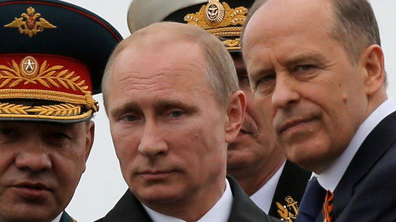 Plant laut Richard Shirreff eine Invasion des Baltikums - Russlands Präsident Wladimir Putin