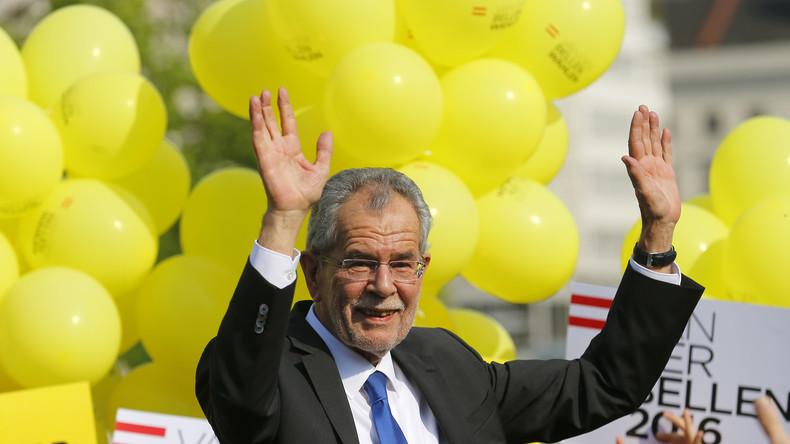 Wahlkrimi in Österreich entschieden: Van der Bellen gewinnt knapp vor Hofer