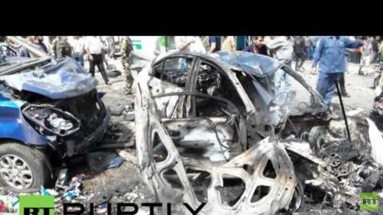Syrien: Tödliche Explosionen in Latakia mit über 120 Toten