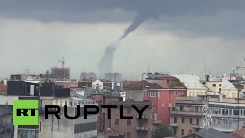 Italien: Tornado fegt durch Wohnviertel südlich von Mailand