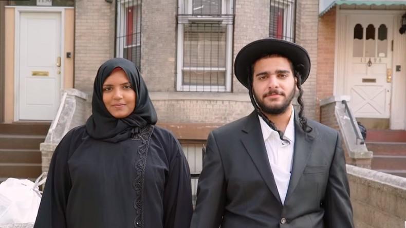 New York: Widersprüchliche Reaktionen auf Experiment mit jüdisch-muslimischen Paaren