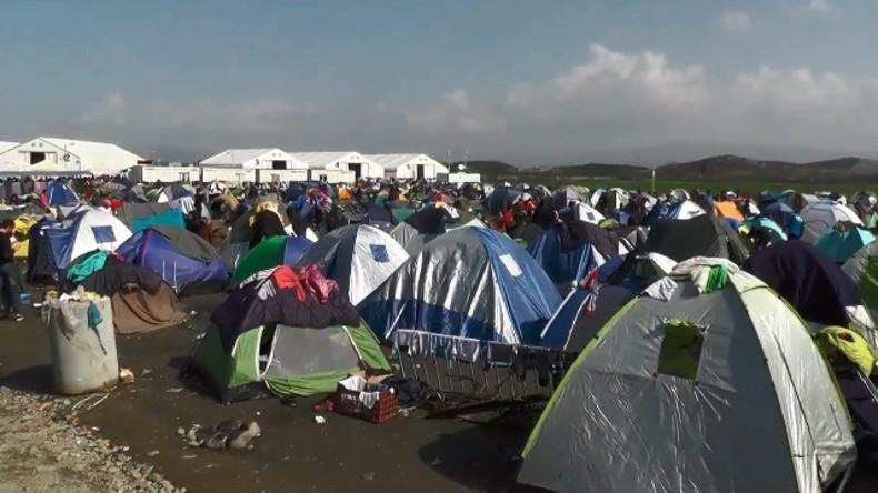 LIVE: Proteste in Idomeni gegen Lagerräumung