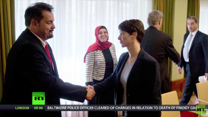 Gemeinsames Treffen von AfD und Zentralrat der Muslime geplatzt
