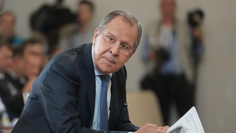 """Sergej Lawrow: """"Die Ukraine-Krise zeigt die Abhängigkeit der Europäer von den USA"""""""