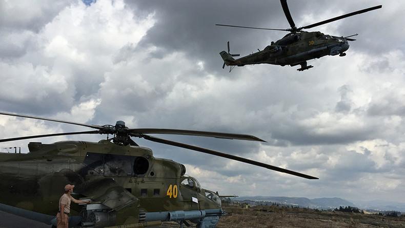 Umstrittene Satelliten-Aufnahmen von Luftwaffenbasis T4: Moskau bestreitet Zerstörung von vier Mi-24
