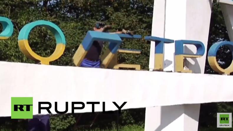 """Entkommunisierung in der Ukraine: Dnipropetrowsk verliert sein """"Petrowsk"""""""